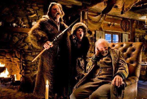 Kurt Russell, Jennifer Jason-Leigh y Bruce Dern en 'Los odiosos 8'