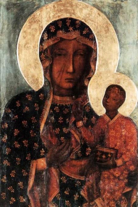 Ikona Matka Boska Częstochowska Hodigitria