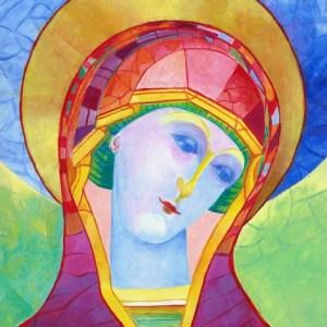 Obraz Madonna ikona Matki Bożej