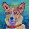 portret psa ze zdjęcia