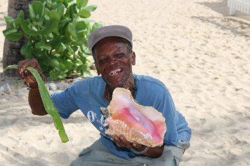 Buy some fresh aloe. Or an awesome conch shell. Capitalism is alive and well here. Dental care, not so much.