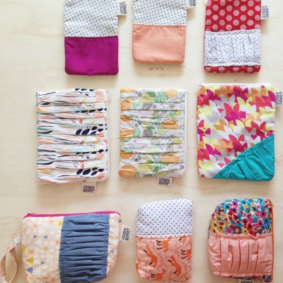 A handful of Gussy Sews products!