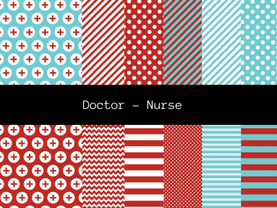 Doctor Nurse Digital Paper, Instant download, digital paper, Background, Aqua Digital Paper, Doctor, Nurse Digital Paper, Scrapbooking
