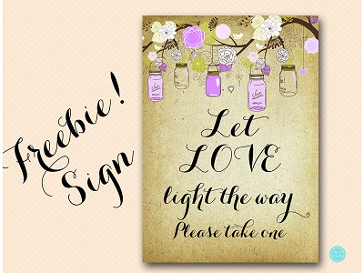 FREE-Let-Love-Light-the-Way-Sign-for-couple