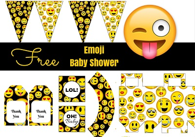Free-Emoji-baby-shower-party-printables-download 1