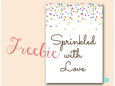TLC108-sign-free-sprinkled-with-love-baby-shower-sign
