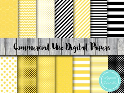 bee digital papers, honeycomb digitap paper, dp28, honey bee, bumble bee