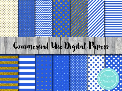 royal blue digital paper, prince digital papers