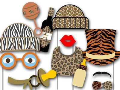 photobooth_jungle_safari props