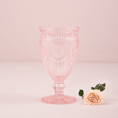 soft-pink-blush-vintage-glassware