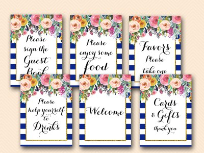 blue-navy-bridal-shower-signs-decorations-guestbook-cards-favors-welcome-bs404