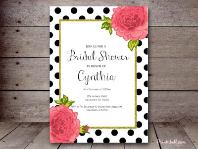bs333-bridal-shower-polka-dots-floral-chic-invitaiton