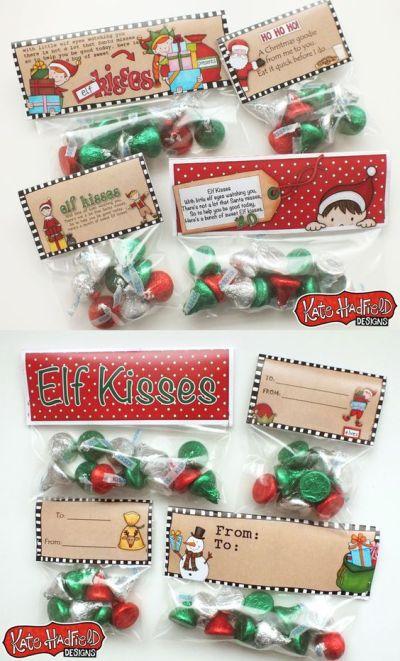 free-printable-kisses-elf-santa-party-bags