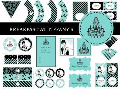 Breakfast at Tiffany's Birthday Pack