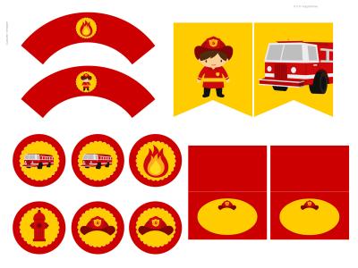 Fireman Printable
