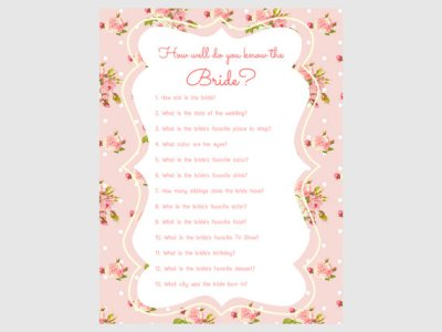 pink shabby floral bridal shower game pack2