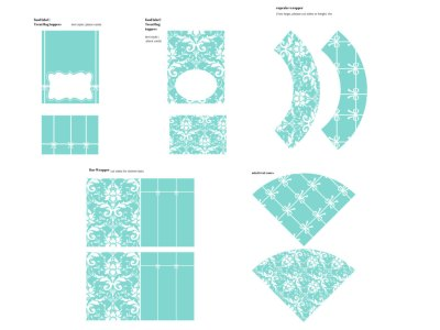 Tiffany Party Package, Tiffany Party, Tiffany Printables, Tiffany and Co, Tiffany Blue, Tiffany Digital Papers, bridal shower, baby showers