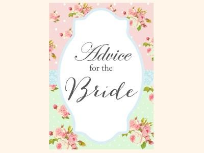 advice-for-bride-sign-mint-pink-shabby-chic-bridal-shower-games-pack-printables-vintage-rose-antique-rose