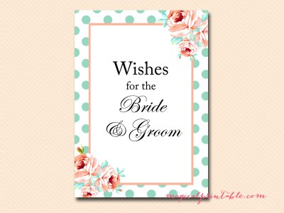 wishes-for-the-bride-and-groom-sign