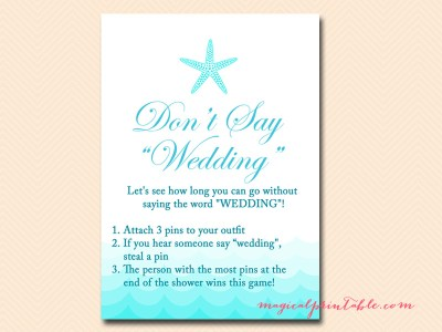dont-say-wedding-sign