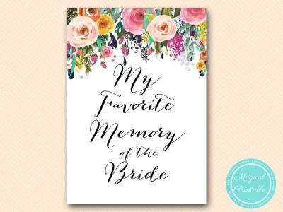 my-favorite-memory-of-bride-sign-8x10