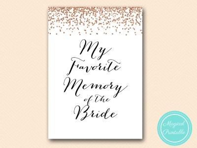 favorite-memory-of-bride-sign