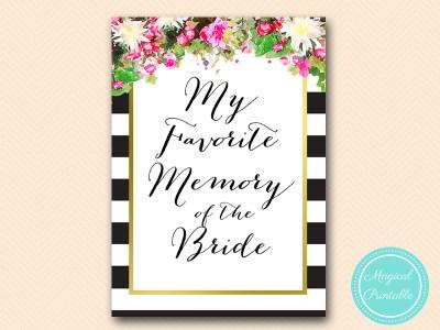 BS176-favorite-memory-of-bride-pink-floral-bridal-shower-games