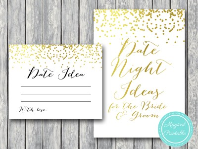 date-night-sign-VERSIONB gold confetti bridal shower share date idea cards