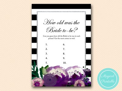 BS181-how-old-was-bride-purple-silver-bridal-shower-game