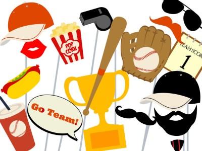 orange-black-Baltimore Orioles-baseball_photo_booth_baseball