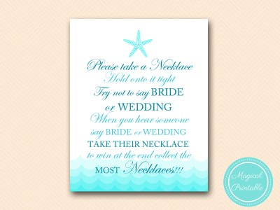dont-say-bride-wedding-necklace-8x10 beach nautical bridal shower game bs28