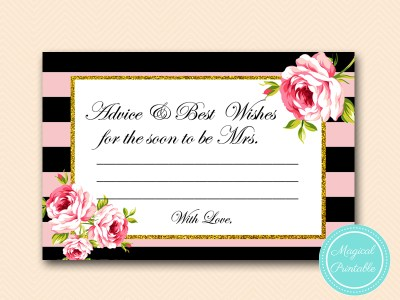 BS419-advice-best-wishes-card-pink-floral-bridal-shower-game