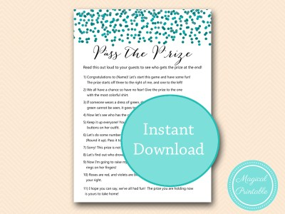 BS434-pass-the-prize-teal-bridal-shower-games-baby-shower