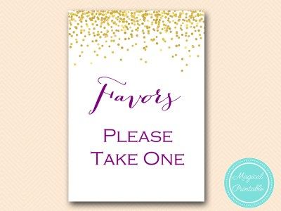 BS84-sign-favors-please-take-one-gold-purple-bridal-shower-decoration-sign