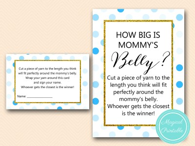 TLC430-B-how-big-is-mommys-belly-card-boy-blue-dots-baby-shower-game
