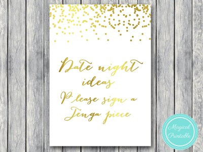 date-night-sign-jenga-piece-gold-bridal-shower-decoration-sign