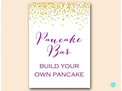 bs84-sign-pancake-bar-purple-gold-decoration-signs-bridal-baby