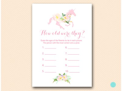 TLC497-how-old-were-the-parent-unicorn-carousel-horse-baby-shower