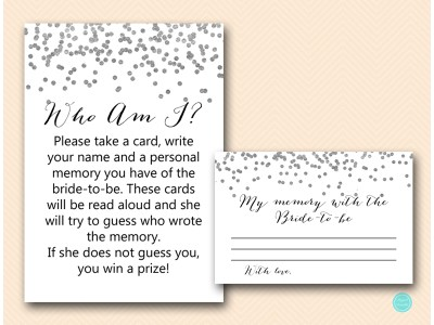 BS149-who-am-i-sign-silver-bridal-shower-games-printable-confetti