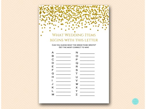 BS281-ABC-wedding-items-gold-glam-bridal-shower-game