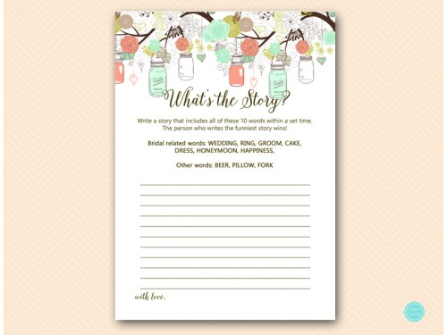 BS64-whats-the-story-mint-peach-bridal-shower-game