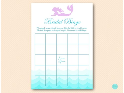 BS28M-bingo-bridal-gift-items-blank-mermaid-bridal-shower-game