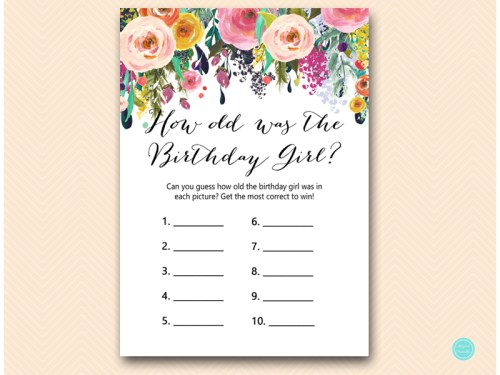 BP138-how-old-was-birthday-gir-floral-birthday-party-gamel