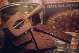 Ingredients for Date Chocolate