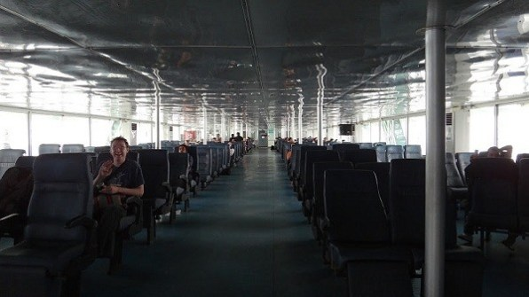 Inside the Seatran Ferry
