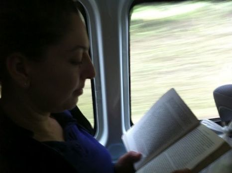 On The Bus - Tanya Speed Reading Into The Wild