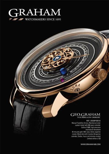 Montre Geo Graham Orrery