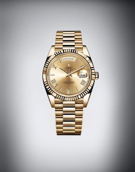 Rolex Day-Date 40 en or jaune - Baselworld 2015