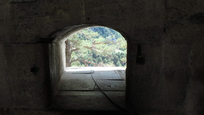The view from a gun emplacement