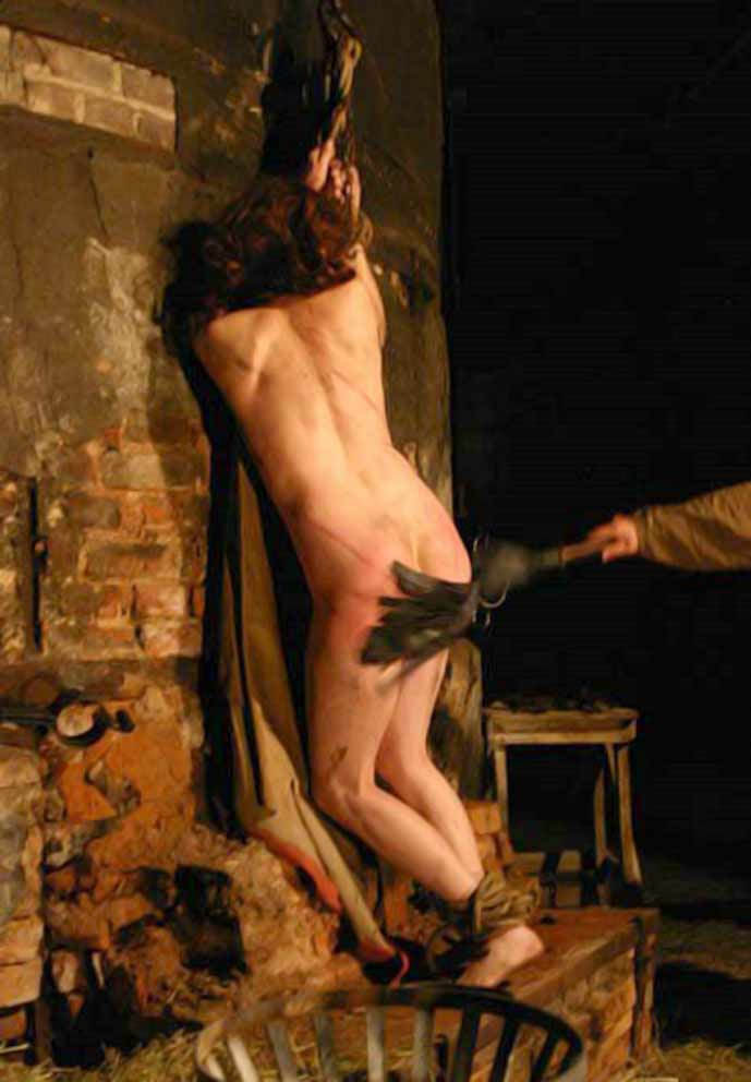 Torture naked girl inquisition